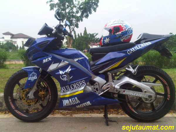 Jupiter MX ala MotoGP
