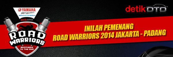 pemenang road warriors