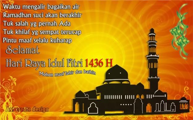 Idul Fitri 1436H