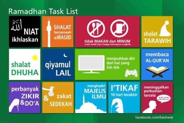 jadwal harian ramadhan