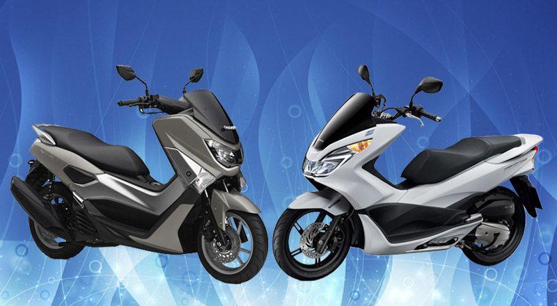 Honda PCX 150 vs Yamaha NMAX